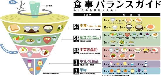食事の栄養バランス