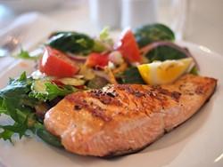 野菜と魚のソテー