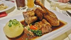 脂っこい鶏肉料理