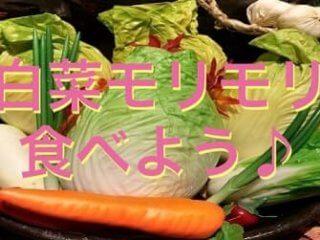 白菜と他の野菜